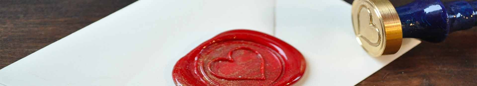 Symbol wax seal stamps - Made in France - L'Ecritoire Paris stationery